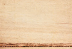 Wood texture. Brown wood  with many hole that weevil eat Royalty Free Stock Photo