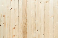 Brown wood panel Longitudinal assembly down The wooden wall is made of rubber tree Stock Images