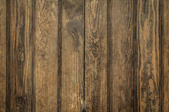 Brown wood panels background Royalty Free Stock Photo