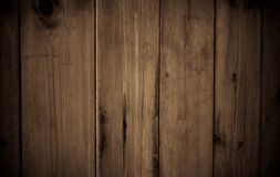 Brown wood panels natural texture Royalty Free Stock Photography