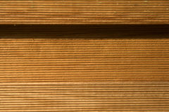 Brown wood panels Royalty Free Stock Photo