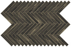 Brown wood parquet. Abstract background. Empty vector template Stock Photography