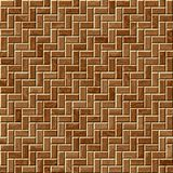 Brown wood parquet Stock Images