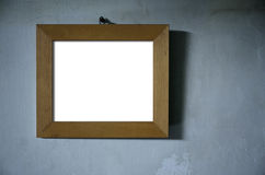 Brown Wood Photo Frame Royalty Free Stock Image