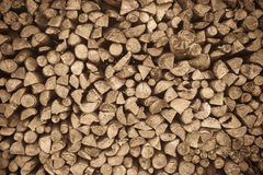 Brown wood pile background texture pattern. Brown wood pile background texture Stock Photo