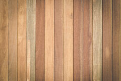 Brown wood plank texture for background Stock Images
