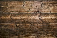 Brown wood plank texture background. vector illustration