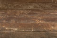 Brown wood plank wall texture background. Close up stock image