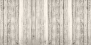 Brown wood plank wall texture background panorama Stock Photography