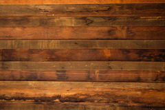 Brown wood plank wall texture background. Wooden wall Stock Images