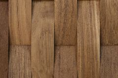 Brown Wood Surface Stock Image