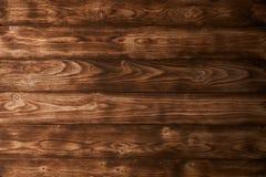 Brown wood texturbakgrund Arkivfoton
