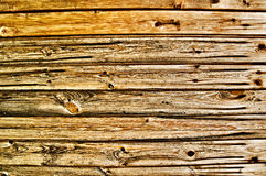 Brown wood texture. The brown wood texture with natural patterns Stock Images
