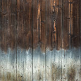 Brown wood texture background with light bottom Stock Image