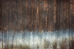Brown wood texture background with light bottom Stock Photography