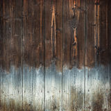 Brown wood texture background with light bottom Royalty Free Stock Images