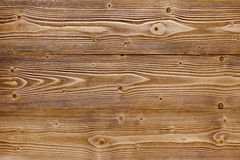 Brown wood texture. Royalty Free Stock Photo