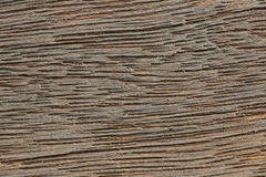 Brown wood texture from barn Stock Images