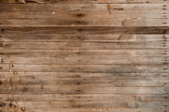 Brown wood texture from barn Stock Photography