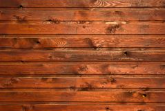 Brown wood texture with natural patterns Stock Images