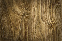 Brown wood texture with natural patterns Royalty Free Stock Images