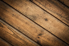The brown wood texture with natural patterns Stock Photos
