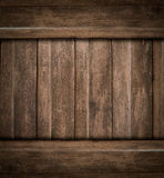 Brown wood texture old Stock Images