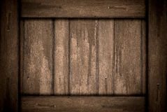 Brown wood texture old Royalty Free Stock Images
