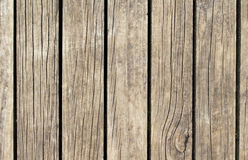 Brown wood texture with vertical lines. Warm brown wooden background for vintage banner Stock Photos