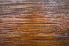 Brown wood texture. Very sharp brown wood texture. It is eight yeart old oak Stock Photos