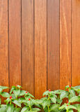 The brown wood wall Stock Photography