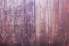 Brown wood wall made of wooden planks. Abstract wood texture background. stock photo