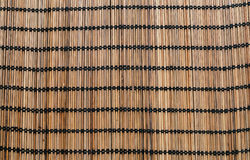 Brown wood weave texture. And blackground Royalty Free Stock Photography
