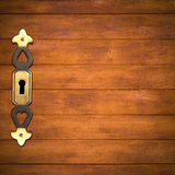 Brown wooden background Royalty Free Stock Photography