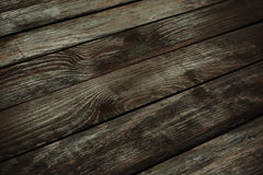 Brown wooden background. Dark brown wooden background. wooden planks perspective Stock Photos