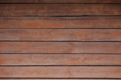 Brown wooden background. Brown wooden horizontal planks background Royalty Free Stock Images