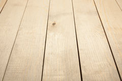 Brown wooden background. Light brown wooden background. wooden planks perspective Stock Images