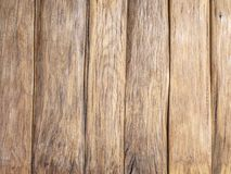 Brown wooden background. Stock Image