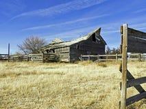 Brown Wooden Barnyard Stock Images
