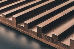 Brown Wooden Board royalty free stock photography