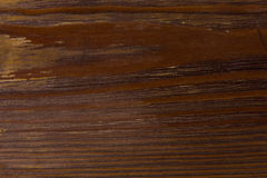 Brown wooden board lacquered Royalty Free Stock Images