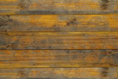 Brown wooden board texture. For background Royalty Free Stock Photography