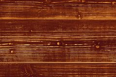 Brown wooden Board, vintage style. Background with texture of wood Royalty Free Stock Photos