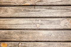 Brown wooden boards Royalty Free Stock Photography