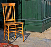 Brown Wooden Chair Royalty Free Stock Photos