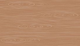 Brown wooden cutting, chopping board, table or floor surface. Wood texture. Vector illustration.  stock illustration
