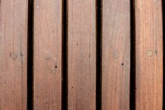 brown wooden deck in a swimming pool royalty free stock images