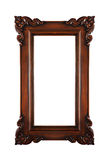 Brown decorative frame Royalty Free Stock Photography