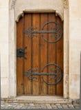 Brown Wooden Door Stock Images