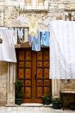Brown Wooden Door - Trogir, Croatia Royalty Free Stock Image
